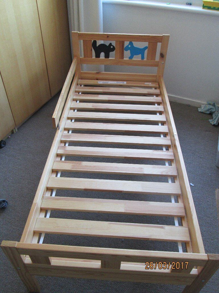 Ikea toddler bed kritter - Ikea Kritter Toddler Bed 20 Frame Only