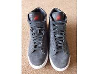 Nike Blazer grey nubuck leather 6.5