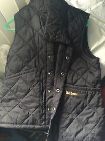Boys Barbour gilet