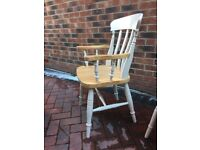 4 Lovely Farmhouse Chairs for sale!