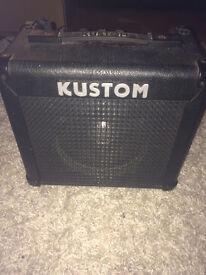 Kustom guitar amplifier