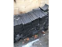 Reclaimed Double Roman Roof Tiles Approx 350+ and 50+ 1/2's