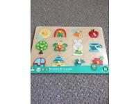 Early learning centre wooden jigsaw educational