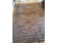 Wool mix rug 2m x 3m