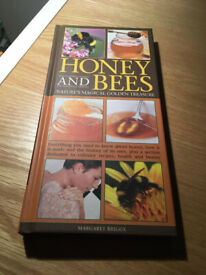 Honey and Bees Hardcover Illustrated Book