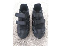 Geox Respira trainer shoes, black ( size 1.5 UK, 34)