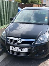 2013 Vauxhall Zafira , low mileage , Bridgwater area
