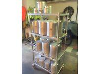 Storage rack spice small ingrediants