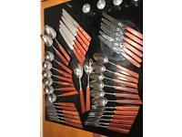 Super cool Mid Century retro vintage cutlery