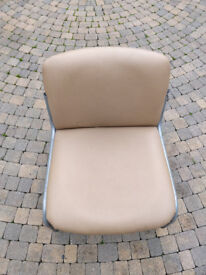 10 Leather and Metal Chairs
