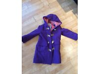 Boden girls duffle coat aged 5-6 years.