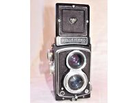 Rolleicord Twin Lens Reflex 120 Roll film camera