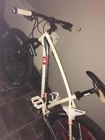 Incline mountain bike basically brand new , hydraulic brakes