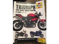 Triumph 1050 Haynes manual