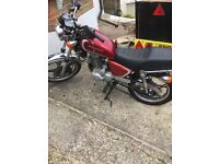 Hartford 125cc full log book keys heavy duty chain not MOT but will pass