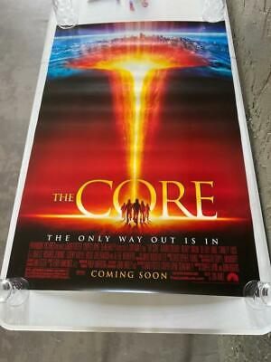 VINTAGE RARE 2003 THE CORE 40X27 MOVIE POSTER ONE SHEET ROLLED Core Movie Poster