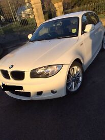 BMW 1 Series 60 Plate 2.0 Diesel Rare White M Sport Extra FSH 12 Month Mot