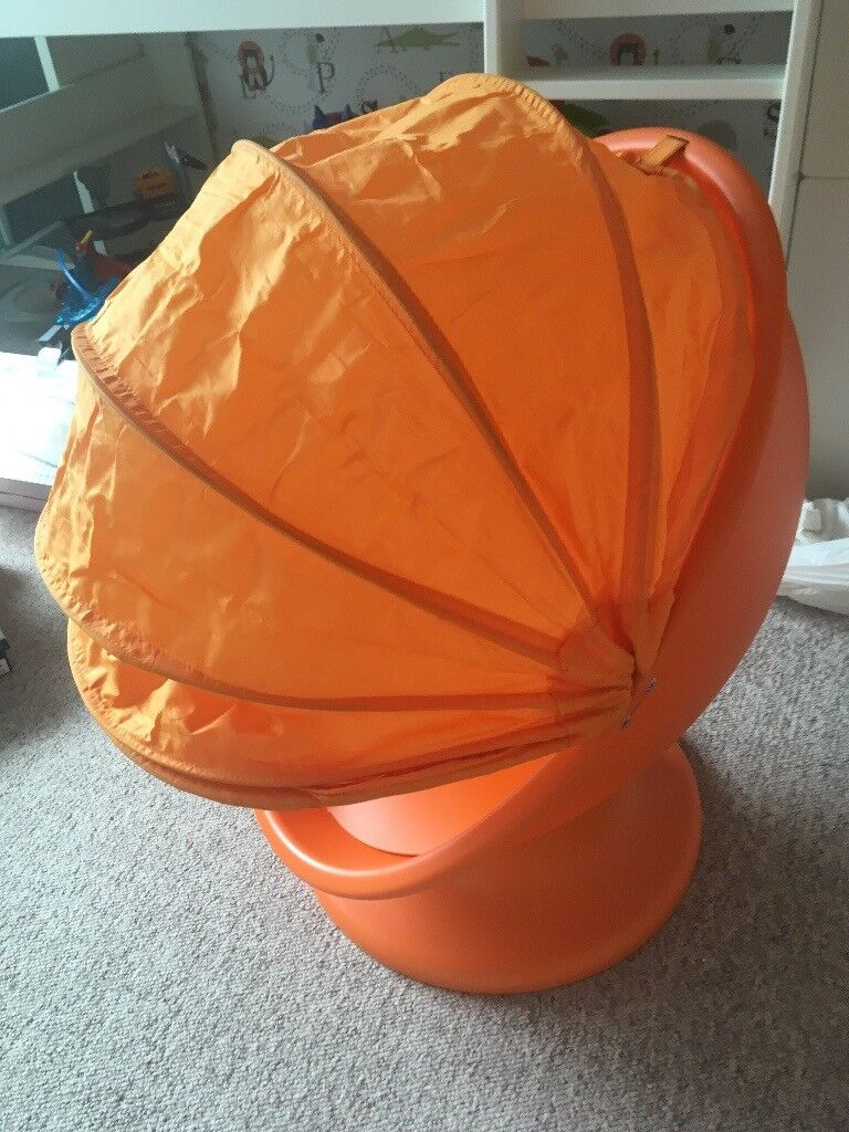child s swivel chair from ikea orange for toddlers and young