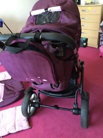 Stroller Chipolino Optima Purple only £170