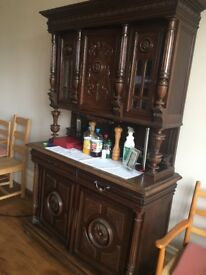 Genuine Antique French Dresser