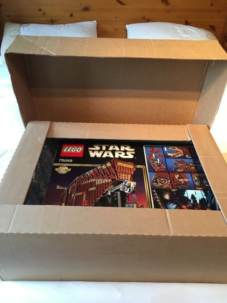 Lego Star Wars Sandcrawler UCS 75059, Brand New Factory Sealed - Retired Product