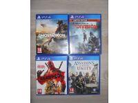 PS4 GAMES - selling individually