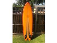 Gulf Stream Speed Dialler Fish Surfboard - Excellent Condition