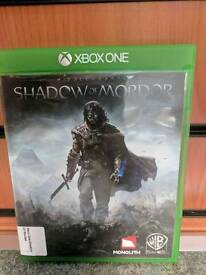"""XBOX ONE GAME """"MIDDLE EARTH SHADOW OF MORDOR"""""""
