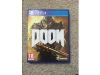 DOOM PS4 game £10 only.