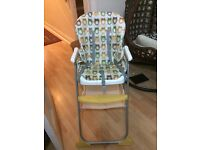 Mother care Joel Owl Highchair