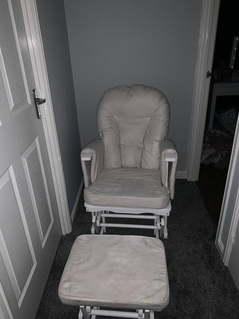 Tutti Bambini Cream Glider Chair In Dumbarton West Dunbartonshire Gumtree