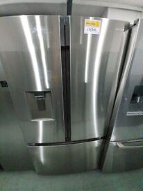 Hisense 91cm Wide, French Door, Stainless Steel *Ex-Display* (12 Month Warranty)
