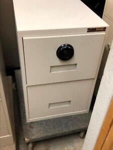 2 Drawer Vertical File Cabinet Safe