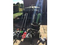 Complete fishing set up for carp