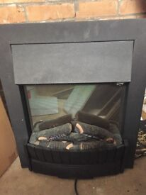 Dimplex electric fire excellent condition hardly used