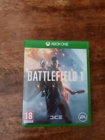 BATTLEFIELD ONE on XBOX ONE