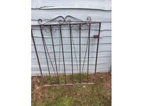 Wrought iron-style 'Cannock Gates' gate for sale £20