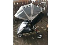 Baby Jogger City Mini 6wks old with accessories