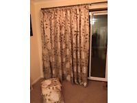 Attractive Patio Door Curtain with matching cushions