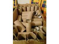 Box of Toilet /Kitchen Roll Tubes