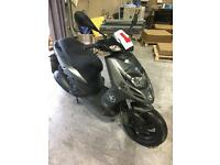 Piaggio typhoon 125 moped.