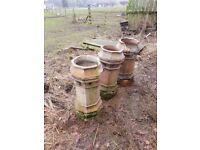 3 chimney pots for sale
