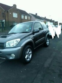 54 plate RAV4 turbo diesel genuine 80k long mot very good condition in and out may part exchange
