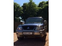 2003 Mitsubishi Shogun Elegance 3.2 DI-D Diesel, Automatic, Full Service History, 2 Brand New Tyres