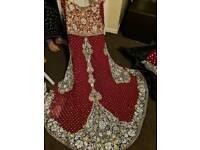 Wedding dress 3 piece