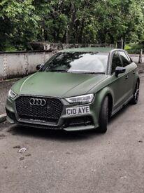 Audi A3 Sline Army Matte Green