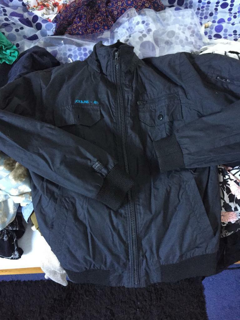 Jack jones men's coat in a large
