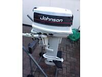 JOHNSON 25hp longshaft on tiller and remotes