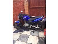 Sinnis Stealth Blue Motorbike, 1st owner