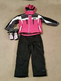 Girl's Ski Jacket and Pants age 5-6